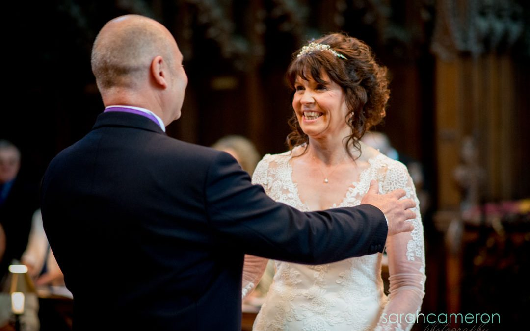Hayley and Stuart's wedding in Gloucester Cathedral and Thornbury Castle
