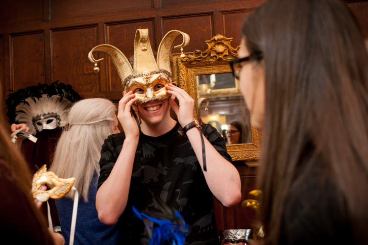Masked Ball at Thornbury Castle