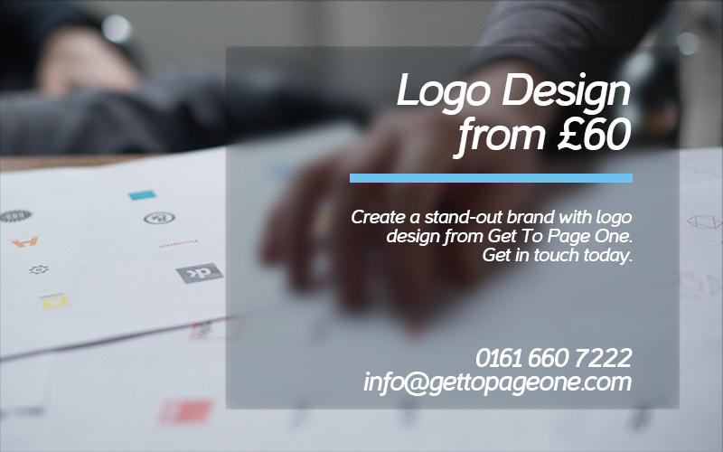 Logo design - Get To Page One Ltd