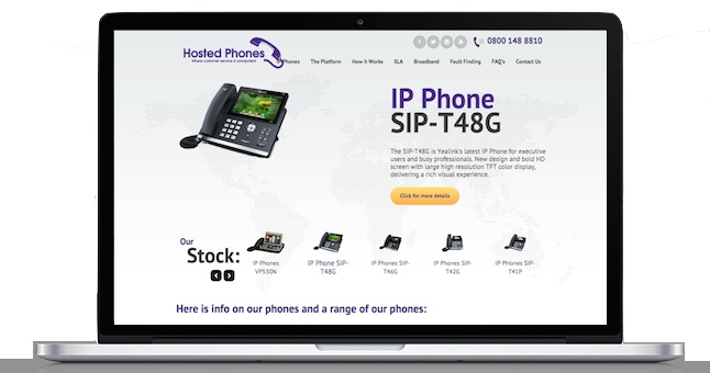 Hosted Phones Ltd - Get To Page One Ltd