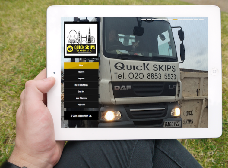 Quick Skips London - Get To Page One Ltd